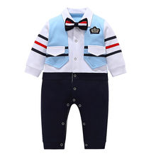 AmzBarley Infant Baby Boys clothes set gentleman formal suits Christmas Wedding Birthday party outfit Winter Onesies for 6M- 24M