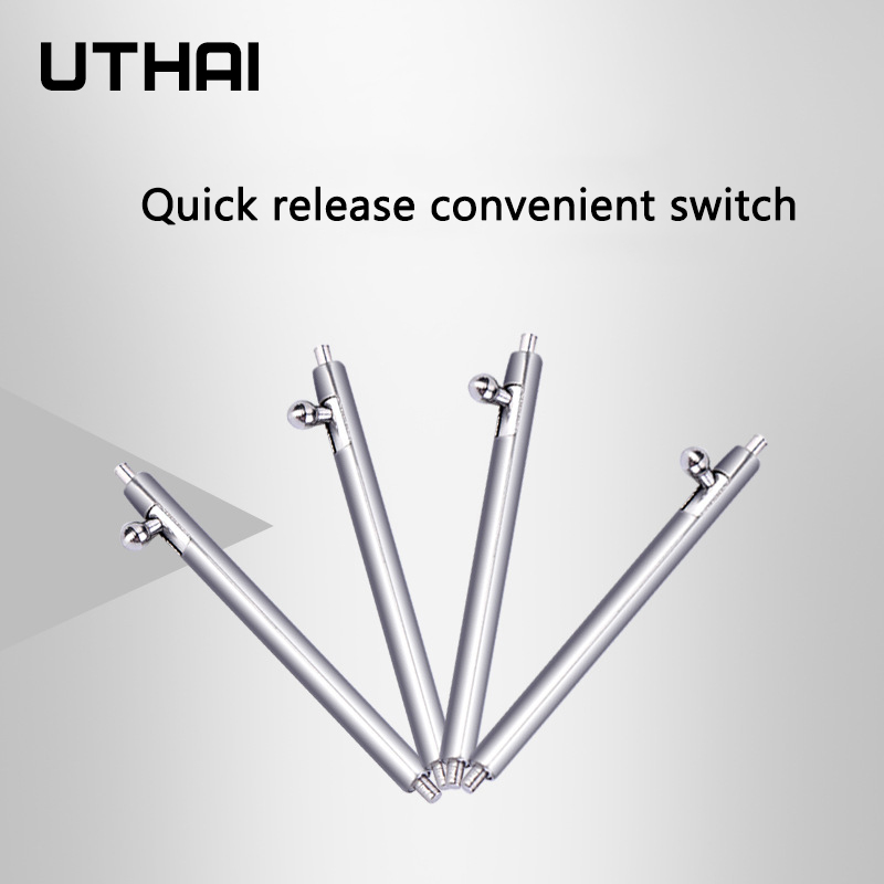 UTHAI P65 18mm 20mm 22mm Quick Release Watch Spring Bars 8-24mm Quick Release Ear