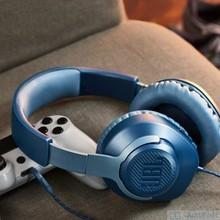 JBL – écouteurs de jeu Quantum 100, oreillettes filaires pliables avec micro, pour PlayStation/Switch/iPhone/Mac/VR, nouveauté