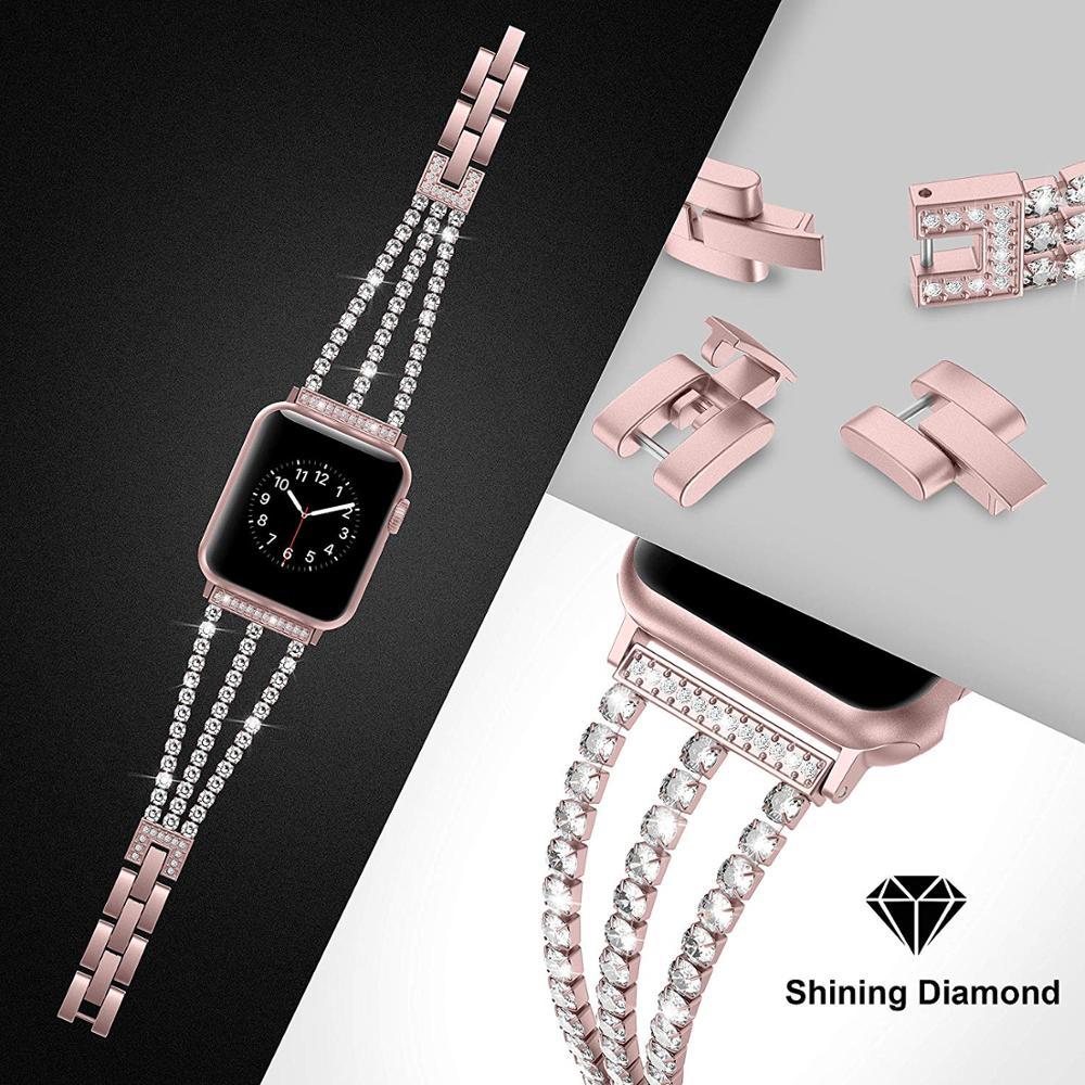 Купить новый женский браслет jansin для часов apple watch 38 мм 42