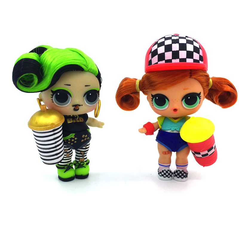 Genuine LOL Surprise Dolls Original Lols Dolls Hair Doll With Accessories Girl's Toy Gifts 5CM