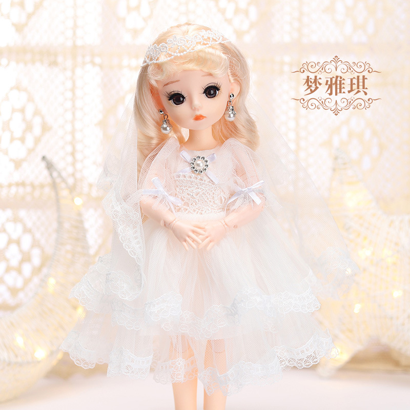 12 Inches Princess 30cm Joints BJD Suit Series Doll Toys for Girls Children Birthday Christmas Gifts 18