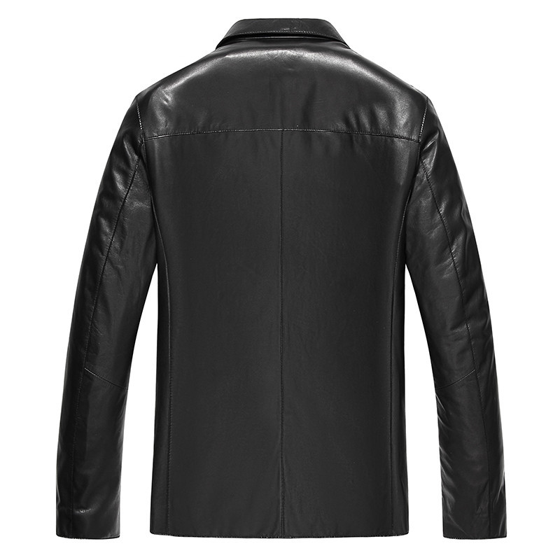 Genuine Leather Real Sheepskin Coat For Spring Autumn Jacket Men Streetwear Motorcycle Jackets JLK18KD18605 MY1868