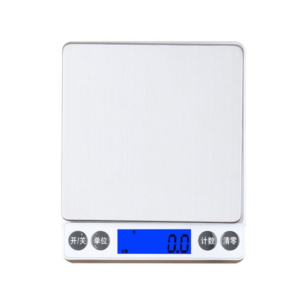 1KG/0.1g Backlight Digital Electronic Kitchen Scale Portable Multifunction Weighing Scale Baking Food Scale