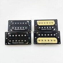 Новый SH1N SH4 Электрогитары пикапы гитарный звукосниматель «хамбакер» 4C Зебра/черный 1 комплект