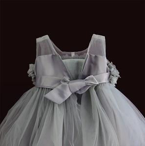 Image 3 - 아기 소녀 드레스 레이스 꽃 아이 의류 공주 결혼식 세례 어린이 착용 1 년 생일 vestido infantil 6 m 4y