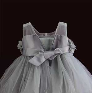 Image 3 - 女の赤ちゃんドレスレースの花の子供服王女のウェディング洗礼子供着用 1 年の誕生日 vestido infantil 6M 4Y