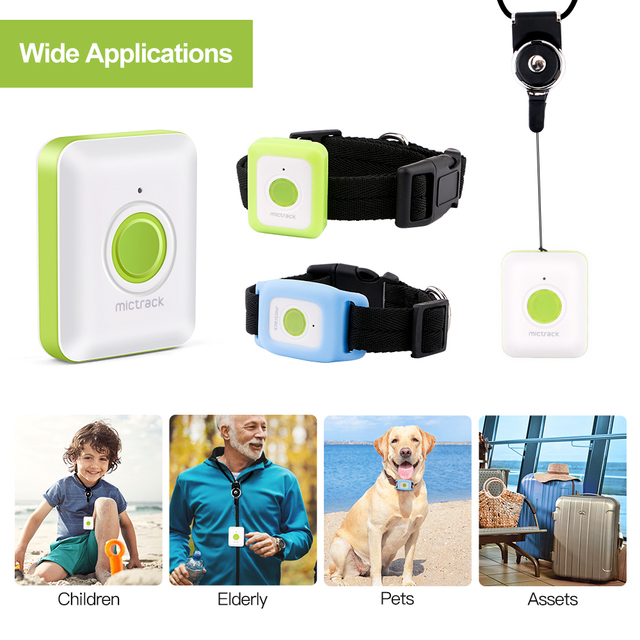 Mini GPS Tracker For Dogs - Children - Kittens 4G LTE SOS Waterproof WIFI Listening Device  3