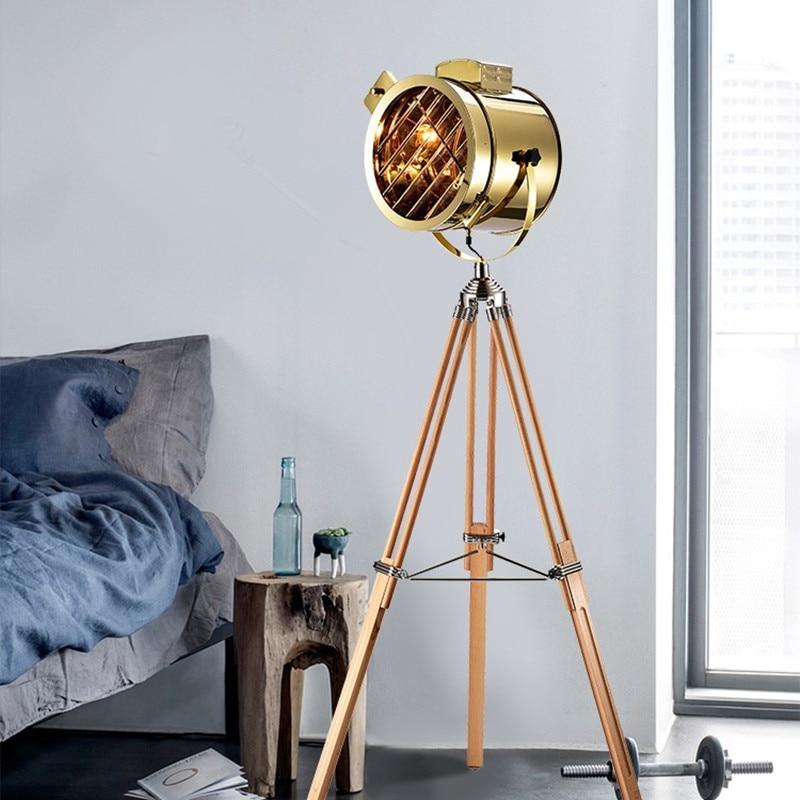 Moderna podna svjetiljka stativa stajaća svjetiljka Dnevna soba - Unutarnja rasvjeta - Foto 1