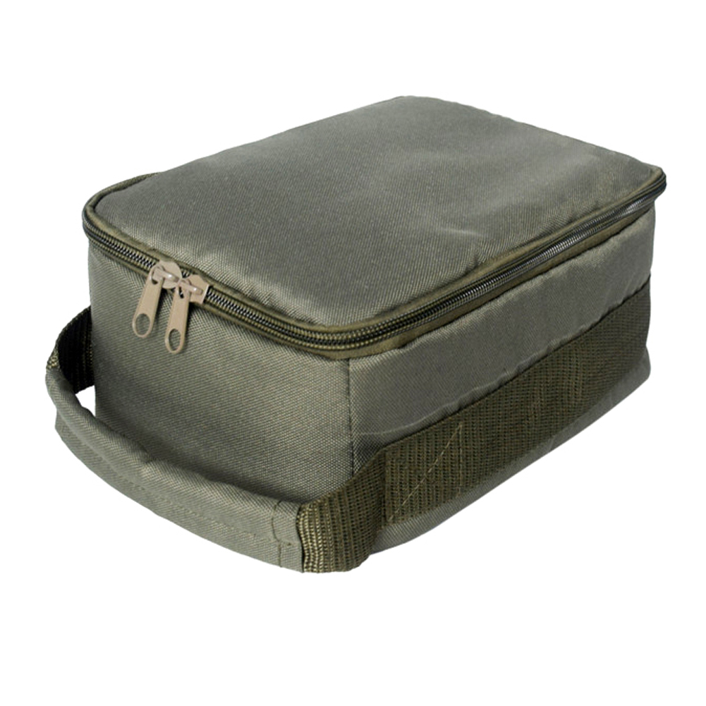 Lures Storage Bag Oxford cloth Accessories Fishing Reel Line Gear Zipper