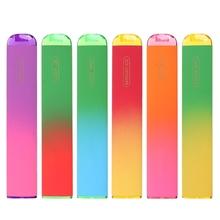 Owoce smak 800 Puffs jednorazowe pary szisza elektroniczna Shisha Stick Pen bezpieczne parownik Mini papierosy wiatroszczelne tanie tanio CN (pochodzenie)