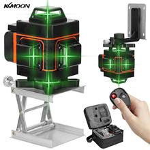 Laser-Level-Instrument Horizontal-Line 16-Lines Green KKMOON Vertical 4D Portable Multifunctional