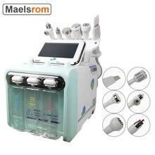 Updated 6 in 1 Small Bubble Oxygen Beauty Machine Skin Cleaner Hydrogen Oxygen Jet Lifting Spray Skin Rejuvenation Anti Aging