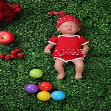 IVITA WG1509 38cm 1.8kg dziewczyna oczy zamknięte wysokiej jakości całego ciała silikonowe Reborn lalki dzieci urodzone żywe zabawki z ubrania
