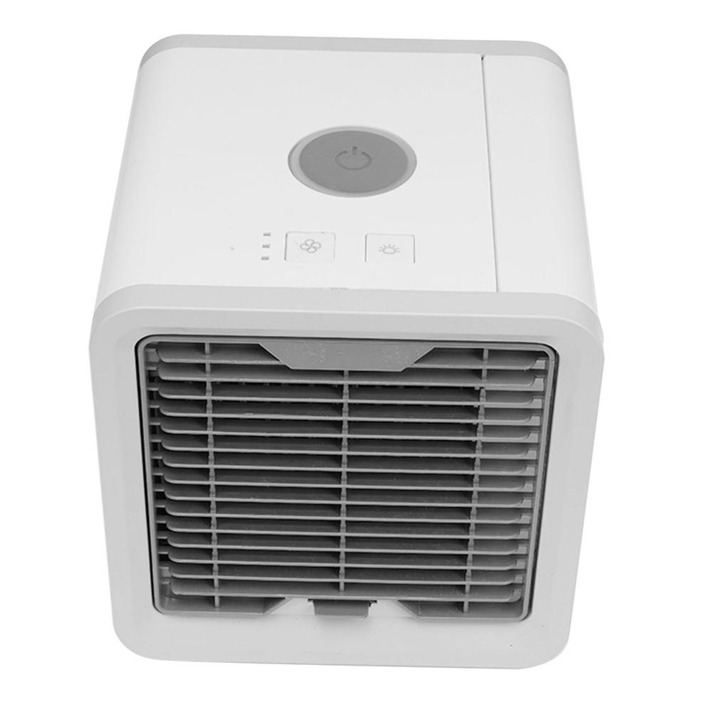 1st Generations Household Air Cooler Usb Mini Water Tank Portable Design Exquisite Fan Cooler Air Conditioning Cooler