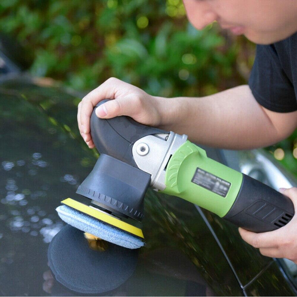 esponja reutilizavel lavavel da enceracao de alta densidade 24 pces aplicador do carro de 5 polegadas