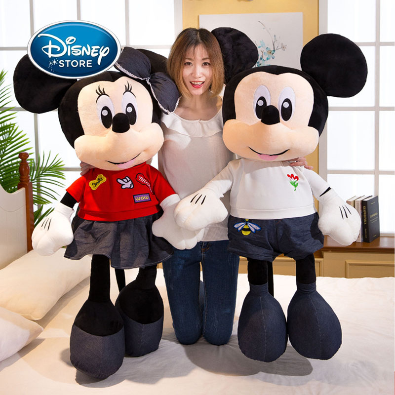 2020 Hot Sale Disney 60CM Mickey&Minnie Mouse Plush Toy Dolls Birthday Wedding Gifts Alentine Day Present For Kids Baby Children