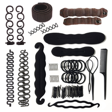 Lady Women French Hair Braiding Tools Weave Braider Roller Hair Twist Styling Tool DIY Accessories for Girls Multi Style