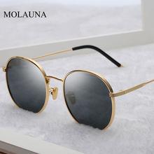 Runde Sonnenbrille Frauen 2021 Retro Sonnenbrille Luxus Marke Designer Sonnenbrille Hohe Qualität Vintage Zonnebril Dames Oculos UV400