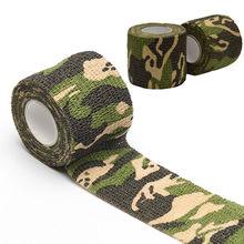 Self-Adhesive 4.5M Camo Camping Hiking Gun Camouflage Stealth Waterproof Tape