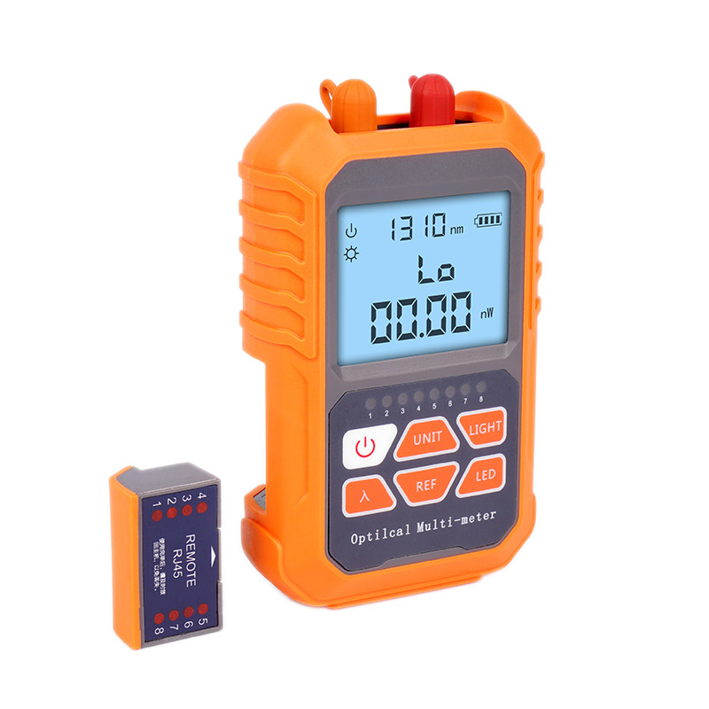 3In1 Optical Power Meter Visual Fault Locator Network Cable Test Led Lighting Optical Fiber Tester 1Mw With 5Km Visual Fault Loc