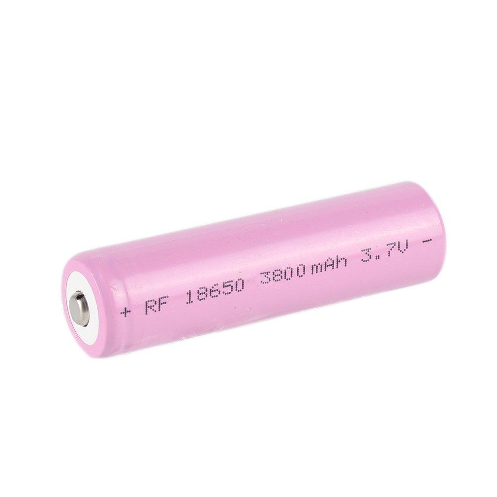 1 PCS 3.7V 18650 Lithium Battery 2200mah Large Capacity Rechargeable Battery Lithium Li-ion ICR Battery for Flashlight Headlamp