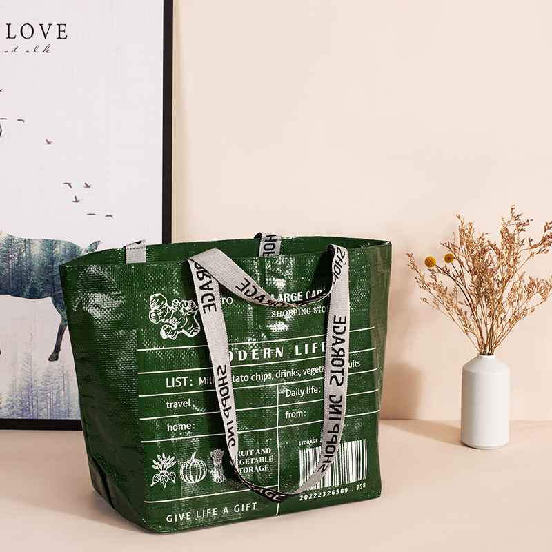 Eco Friendly Large Capacity Recycled Shopping Bag Eco Friendly Shopping Bags » Planet Green Eco-Friendly Shop
