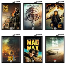 Mad Max Fury Road Movie Home Decorative Painting White Kraft Paper Poster 42X30cm mad max tom hadi charlize theron poster stricker