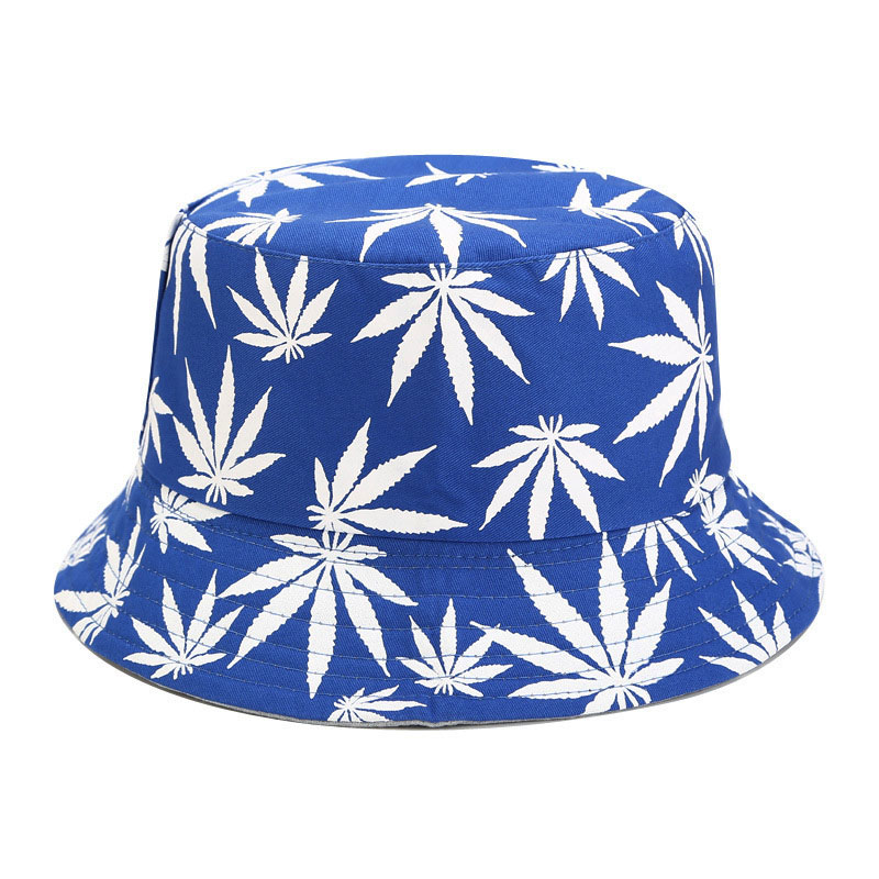 H6f675409e9384828b5c05068a59aacfcP - New Cotton Fishing Hat Women Men Hip Hop Cap Couple Maple Leaf Panama Bucket Hat Sun Flat Top Fisherman Hats Caps Boonie Gift