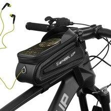 Fahrrad Lenk Tasche Vorder Rad Rohr Rahmen Fahrrad Pakete Kleine Roller Tas K2Z3