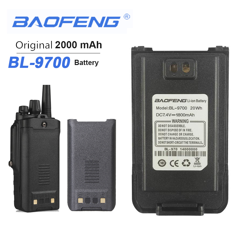 Baofeng Waterproof BF-9700 Battery Two Way Radio Batteries For UV-9R Plus BF-A58 UV-8Plus BF-R6 UV960 S56MAX 9RSR Walkie Talkie