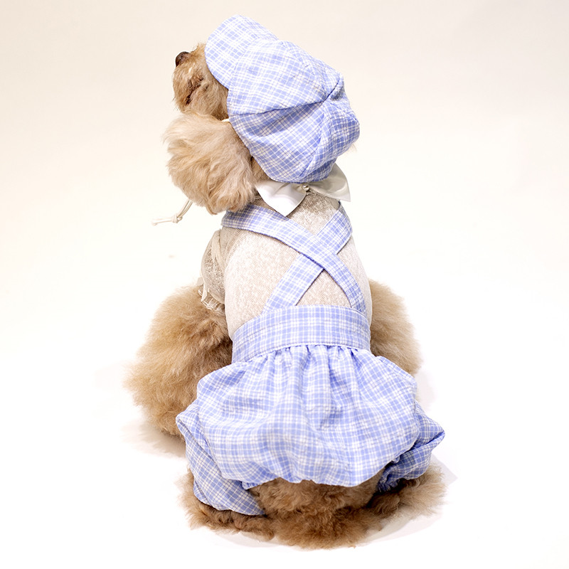 puppy jumpsuit set summer clothes dogs (11)