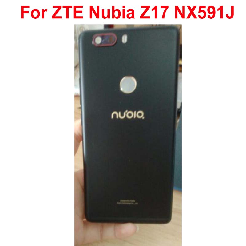 Original Best Quality Rear Cover For ZTE Nubia Z17 NX591J Back Battery Case with Camera Lens Housing Door Shell Phone Parts|Mobile Phone Housings & Frames| |  - title=