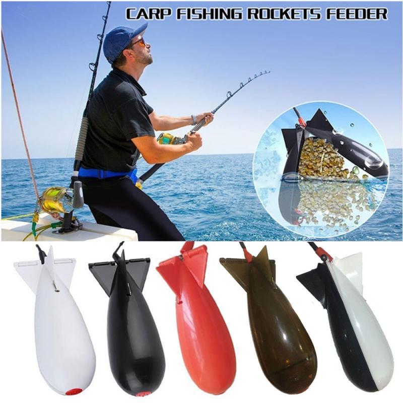 Carp Fishing Method Feeder Spod Bomb Bait Rocket Pellet Rocket Float Bait Holder