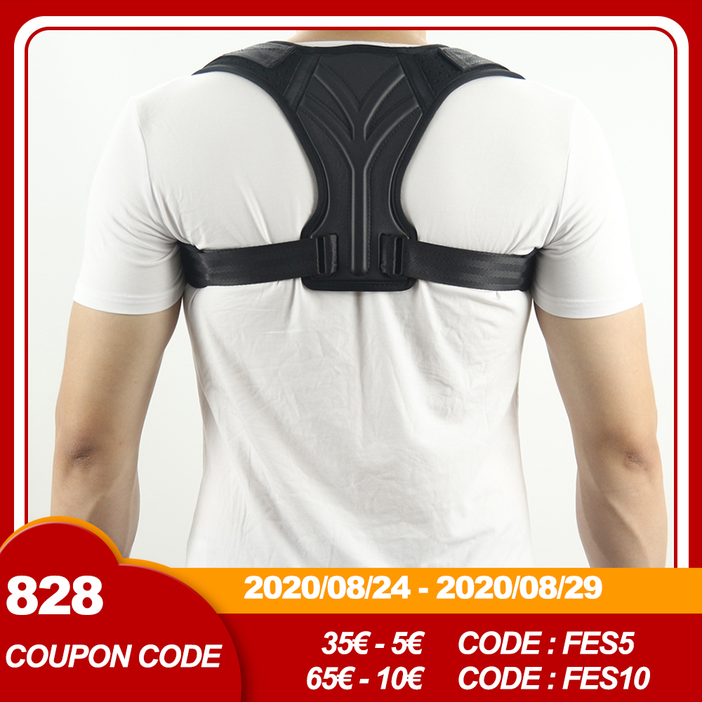 Spine Corset Support Posture Corrector Back Brace Adjustable Posture Brace for Upper Back Shoulder Back Pain Relief Trainer|Braces & Supports|   - AliExpress