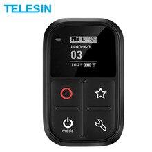 Telesin Waterproof Wifi Remote Control Oled Screen Shortcut Key Wrist For Gopro Hero 8 7 6 5 4 Session Black Camera Accessories