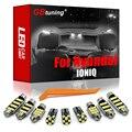 GBtuning Canbus светодиодный 12 шт. в упаковке, для Hyundai Ioniq Электрический гибридный EV подключаемого модуля 2016-2020 автомобиля задний багажник лампа Ин...