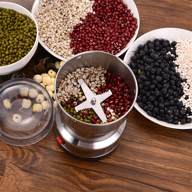 Electric Coffee Grinder Kitchen Cereals Nuts Beans Spices Grains Grinding Machine Multifunctional Home Coffe Grinder Machine 3