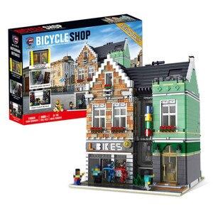 Город МОС 3668 шт кирпичная модель строительные блоки кирпичи наборы совместимы с городским уличным видом модульные игрушки подарки