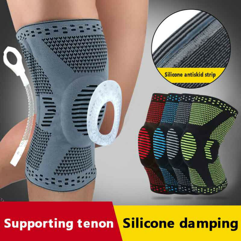 Brand New Knee Brace Gel Pad Support Compression Patella Guard Sports Basketball Meniscus Protective Gear Knee Sleeve