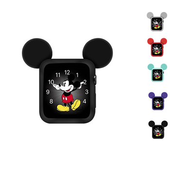 Watch Cover Case for Apple 5 4 3 2 40MM 44MM Serilabee MIc Key Mouse Protect Tpu Cases Iwatch Series Accessories - discount item  20% OFF Watches Accessories