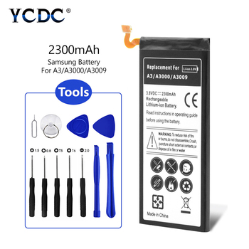 3.8V 2300mah Phone Battery For Samsung Galaxy A3 A3000 A300H A300G A300X SM-A3000 SM-A3009 SM-A300H A300F +Repair Tool kits image
