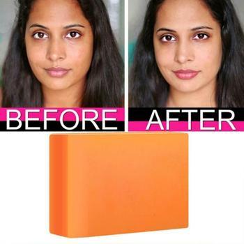 Dark Black Skin Lightening Soap Kojic Acid Whitening Soap Kojic Acid Glycerin Brighten Face Body Skin Bleaching Soap 100g TSLM1