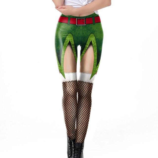 3D Christmas Leggings 3