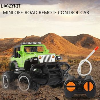 1:43 Mini Cars RC Car Off-road 4 Channels Vehicle Model Radio Remote Control Cars Toys Kids Gifts Funny Toys image