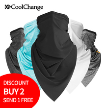 цена на CoolChange Summer Outdoor Sports Scarf Cycling Bandana Bicycle Equipment Headwear Ride Neck Mask Bike Triangle Headband Scarf