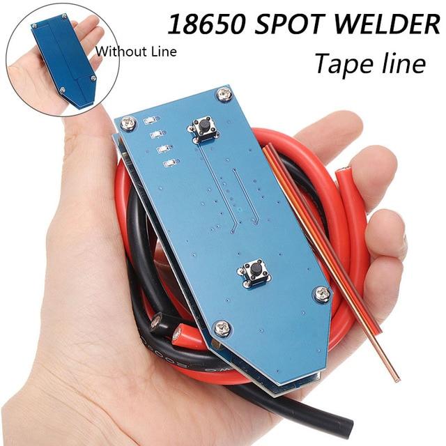 Portatile Mini FAI DA TE 18650 Batteria di Accumulo di Energia Spot Saldatore Kit 4V 12V PCB Circuito Bordo di Saldatura Attrezzature FAI DA TE