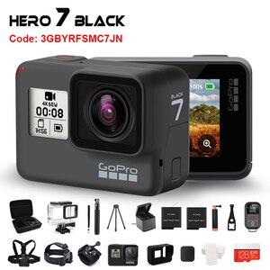 Image 1 - Originale GoPro HERO 7 Nero Impermeabile Macchina Fotografica di Azione 4K Ultra HD Video 12MP Foto 1080p In Diretta Streaming Andare pro Hero7 Sport Cam