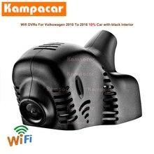 Kampacar VW01 C Wifi Dash Cam Auto Dvr Camera Voor Volkswagen Tiguan Tsi 4Motion Passat B7 Magotan Polo Golf 5 met Regen Sensor