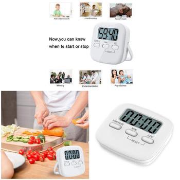 Cyfrowy zegar kuchenny magnetyczny podkład zegar duże cyfry głośny Alarm na gotowanie pieczenia Office Home minutniki kuchenne tanie i dobre opinie Aihogard CN (pochodzenie)